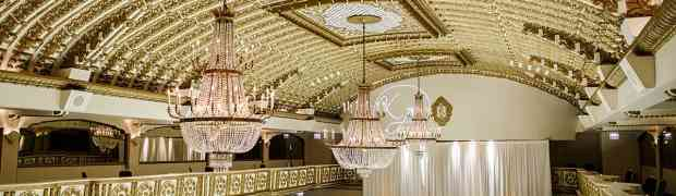 With Chandeliers To Elevate Your Wedding Venue Lighting