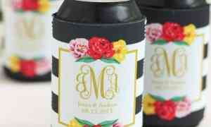 Personalized Can Coolers - Fun Wedding Favors