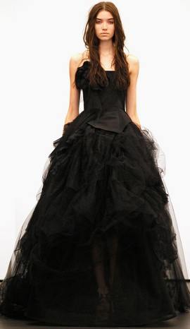Black Wedding Dresses Can Be Gorgeous