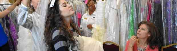 Wedding Dresses At Discount Are Sold By Government