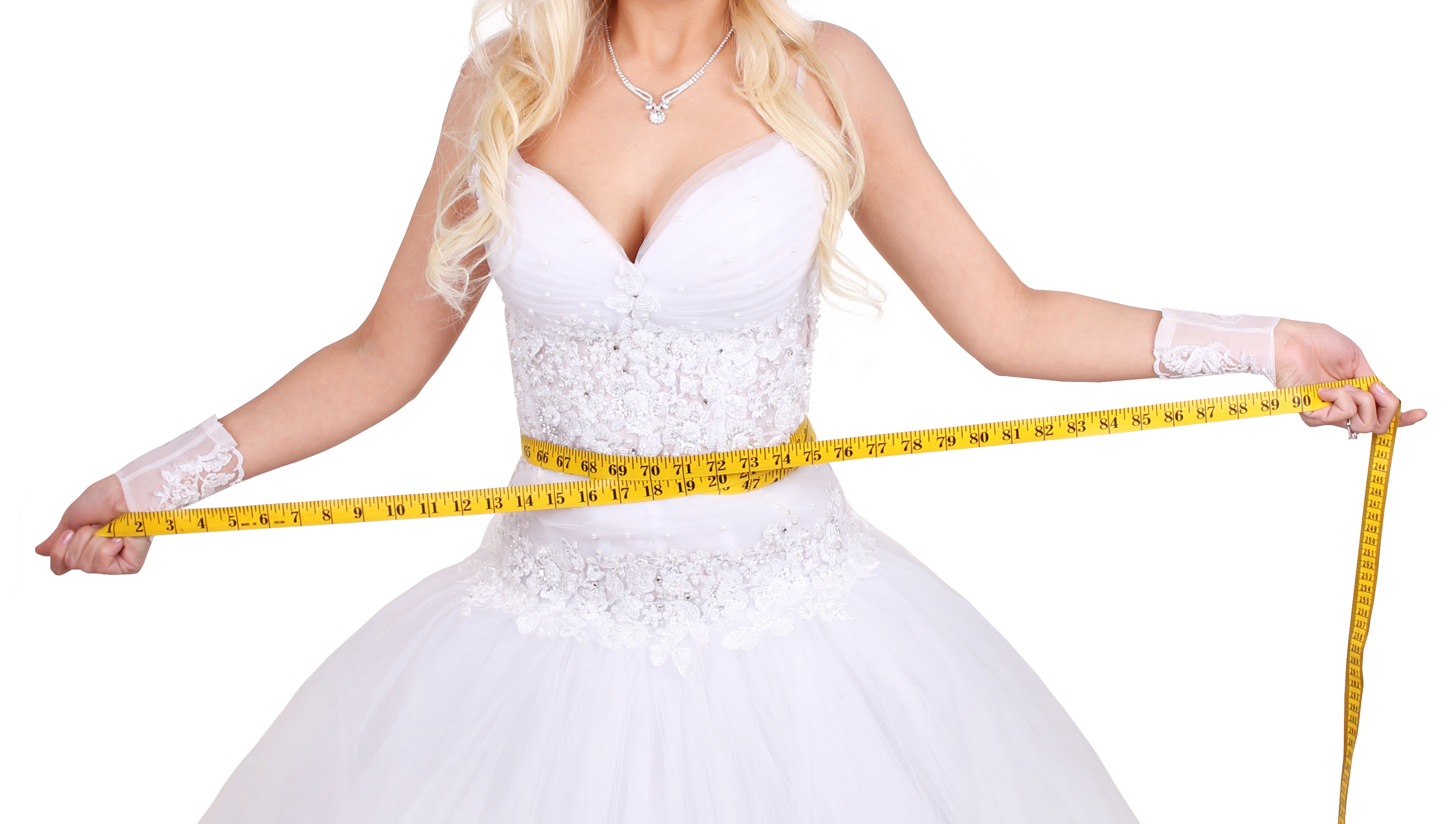 Beauty and fitness are two musts for wedding prep bridal for Double sided tape for wedding dress