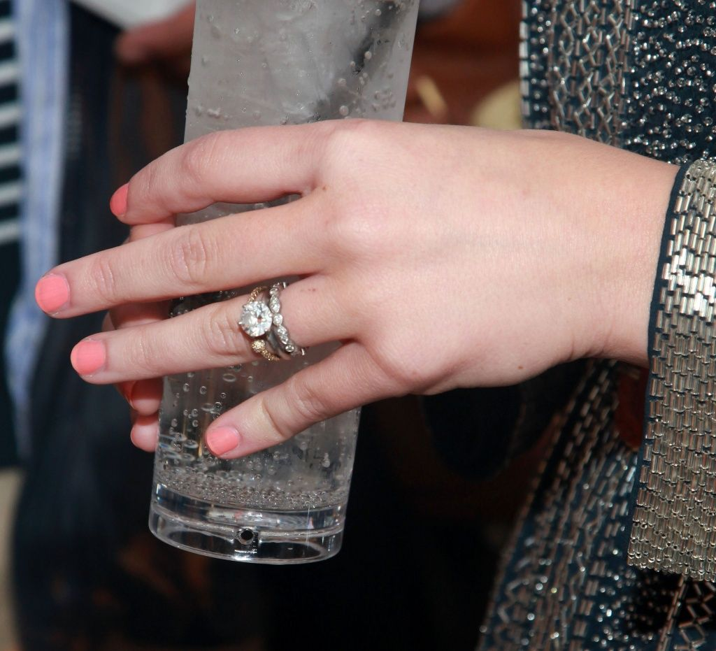 Celebrity Wedding Rings Probably Youll Go After Bridal Gowns in