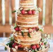 16 Rustic Wedding Cakes We will Love
