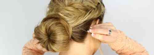 The Perfect Fishtail Wrapped Bun Tutorial for Bride