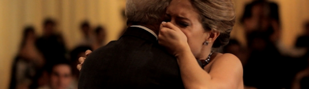 A Moving Father/Daughter Dance To Butterfly Kisses