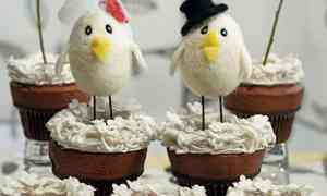 Bird Cake Toppers