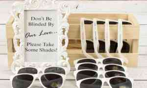 Fun Wedding Favors – Personalized Sunglasses