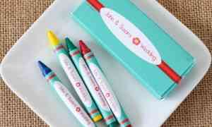 Fun Wedding Favors – Personalized Crayons