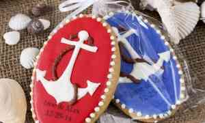 Fun Wedding Favor – Nautical Cookies