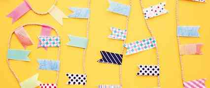 Wedding Table Decorations - Micro Bunting