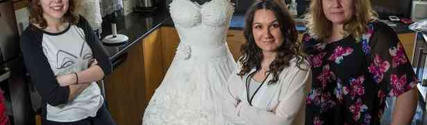 A Bride Won't Want To Wear Beautiful Wedding Dress On Her Big Day?