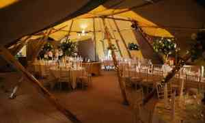 Getting Married Under A TIPI